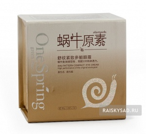 "Крем для глаз ""Улитка"" (Shu pattern Compact eye cream) One Spring"